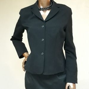 J. Crew Traditional Style Black Blazer